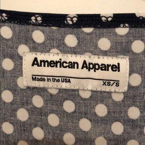American Apparel Dresses - American Apparel babydoll polka dot dress XS/S